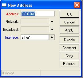 Winbox new ip address dialog